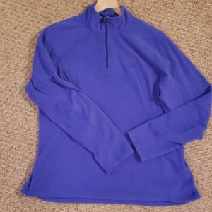 The north face 3/4 zip fleece pull over womens xl